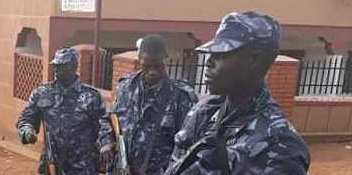 Poliisi esiibye wa Nambooze