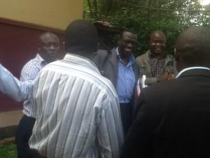Besigye and youths