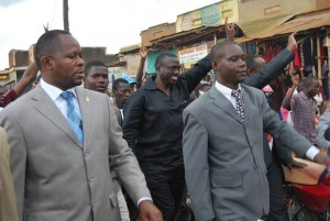 Besigye i Masaka