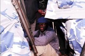 Besigye under arrest
