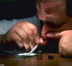 Cocaine addict