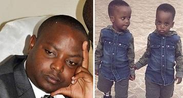 Okuziika abalongo ba minista Kibuule kwa nkya