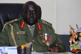 Lt Gen Andrew Gutti bamulayizza