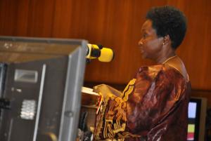 Minister Maria Kiwanuka