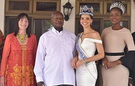 Museveni asisinkanye Miss World