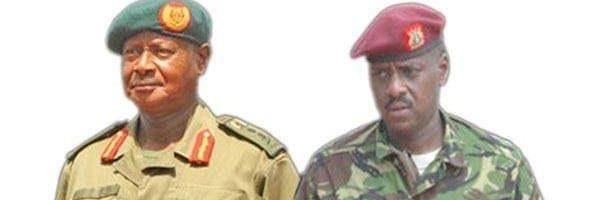 Museveni Akuzizza Gen Muhoozi