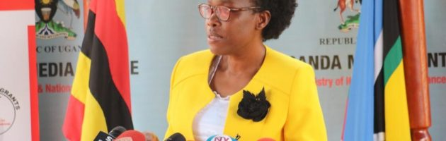 Minisita Nabakooba alabudde Poliisi kunsonga zéttaka