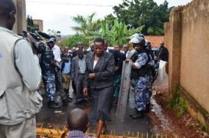 File Photo: Nambooze nga buuka omuziziko gwa Police