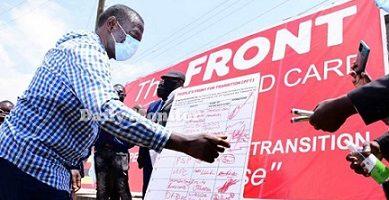 Dr. Besigye aleese ekisinde ekirala okununula egwanga