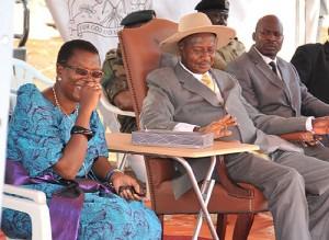 File Photo:Musumba ngaali ne Museveni
