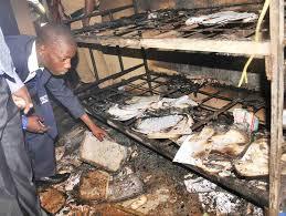 School catches fire