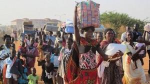 File photo: Abantu be South Sudan nga batambuula