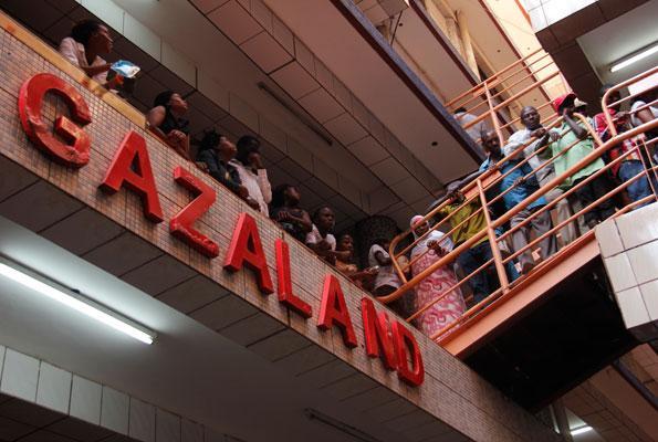 Abasubuzi wansi wa KACITA balaliise okwekalakaasa