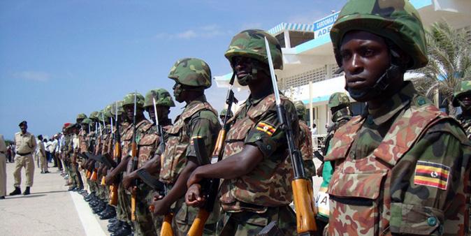 Amagye ga AMISOM e Somalia