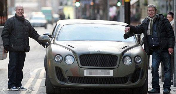 Balotelli's car