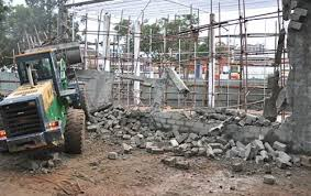 budilings demolished
