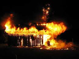 fire guts house