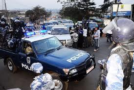 Police yeddizza eby'okwerinda