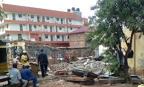 houses demolished