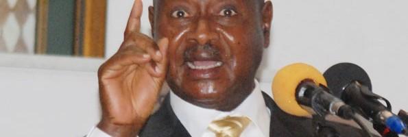 Museveni addiriza ku Muggalo, entambula eyólukale agigudde