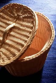 stuck in basket