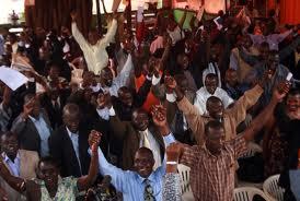 Abamasomero ag'obwannanyini bagala gavt ebayambeko ku misaala gyábasomesa