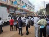 Abasuubuzi b'akeedi bekalakaasiza lwa kizimbe kugalwa