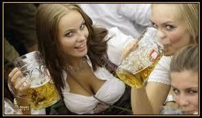 women and beer