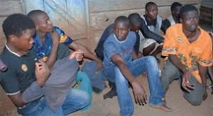 youths arrested